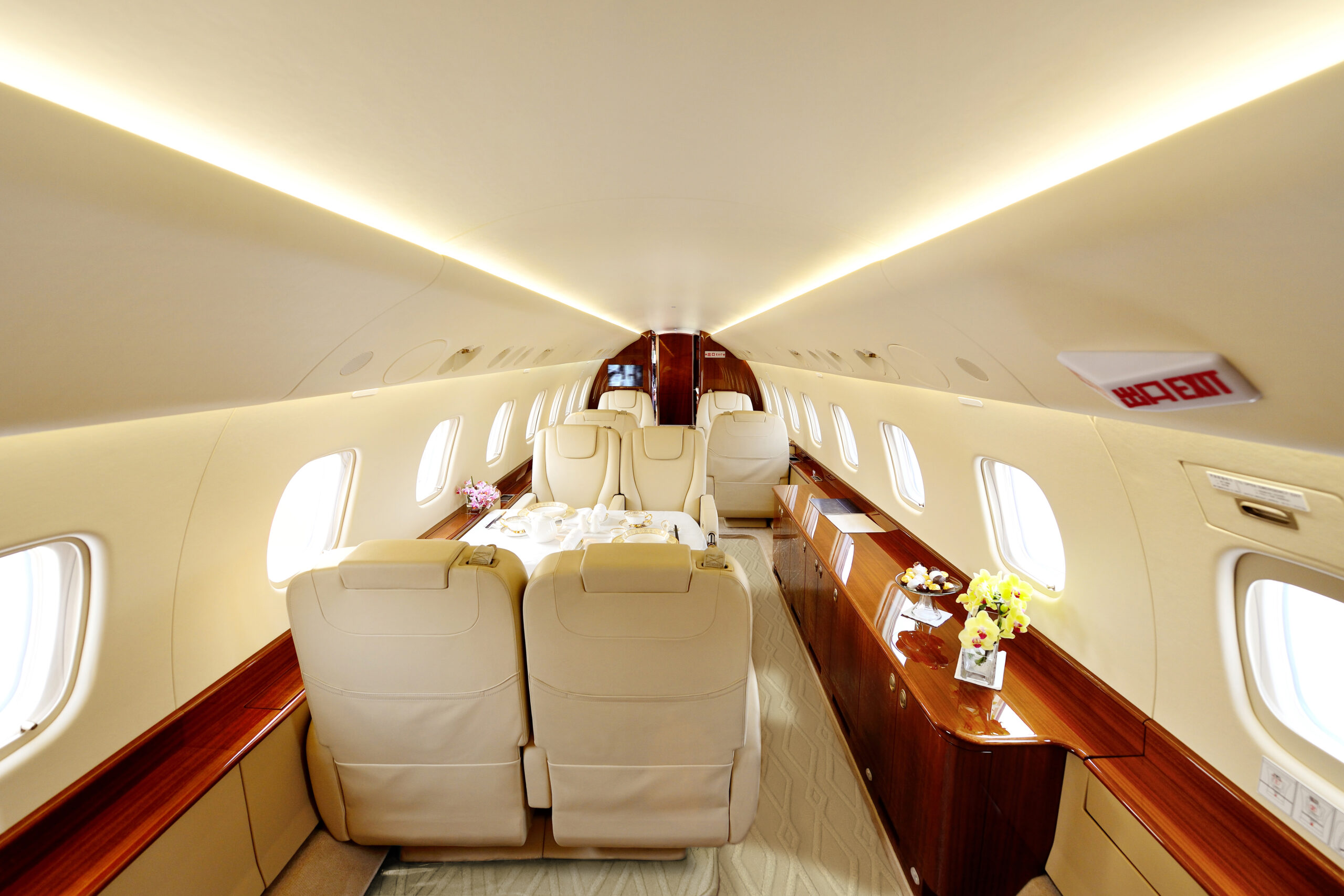 Luxury Carpet Studio realizes bespoke luxury carpets for private jets