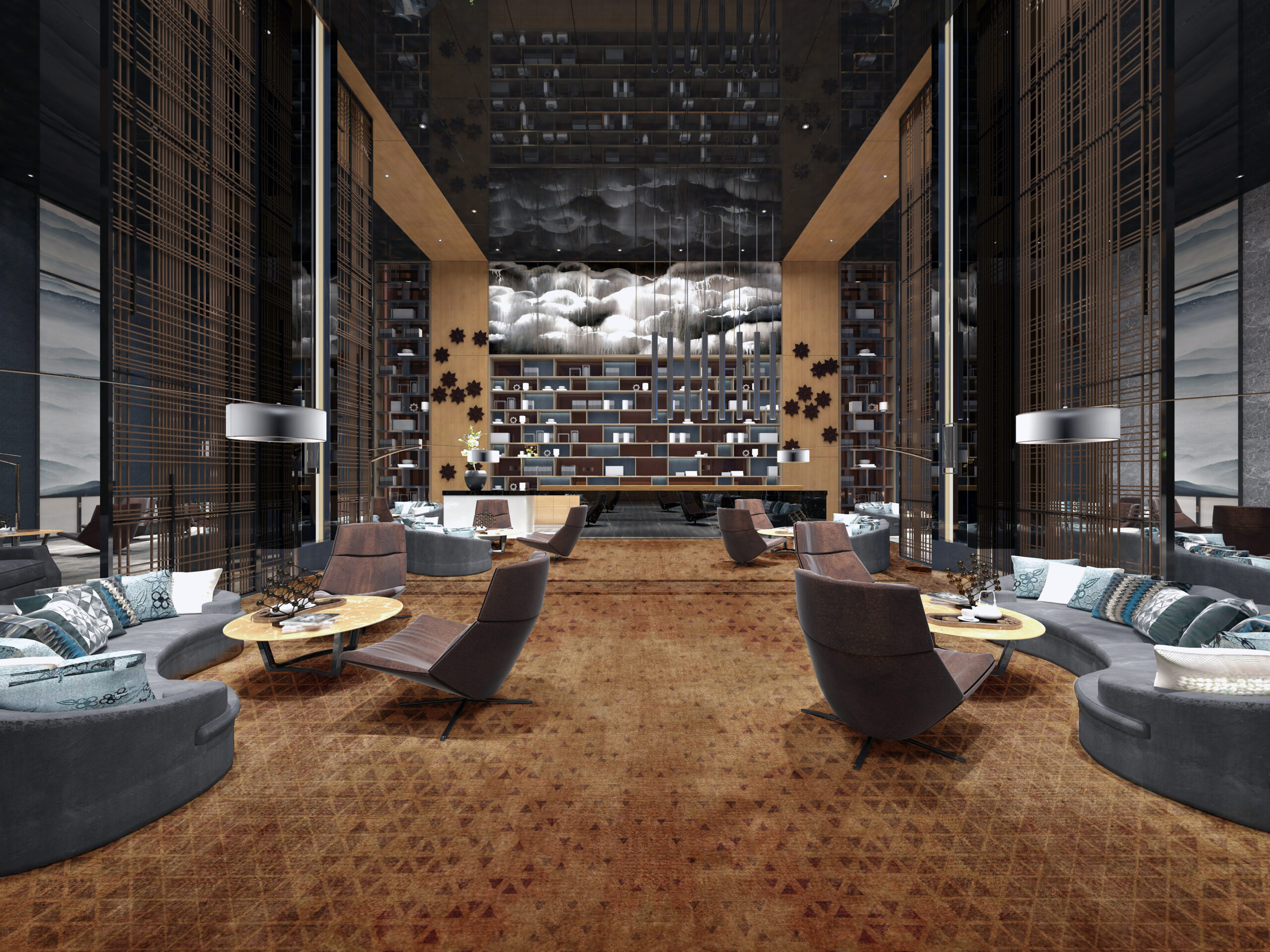 Bespoke carpets for luxury hotels and restaurants